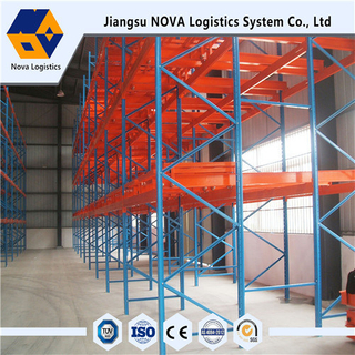 Warehouse Storage Push Back Racking na may Ce Certificated